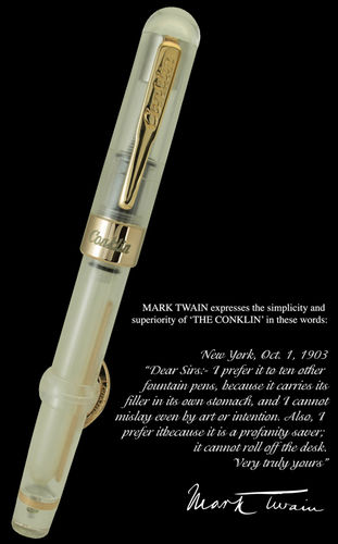 Conklin Mark Twain stilografica Demo limited